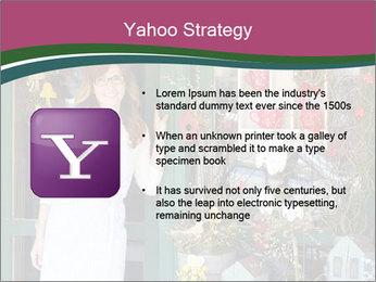 Woman Florist PowerPoint Template - Slide 11