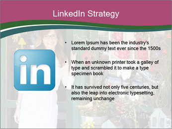 Woman Florist PowerPoint Template - Slide 12