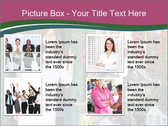 Woman Florist PowerPoint Template - Slide 14