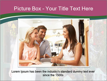 Woman Florist PowerPoint Template - Slide 15