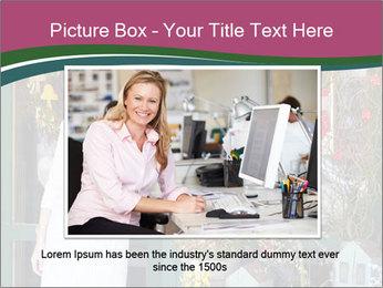 Woman Florist PowerPoint Template - Slide 16
