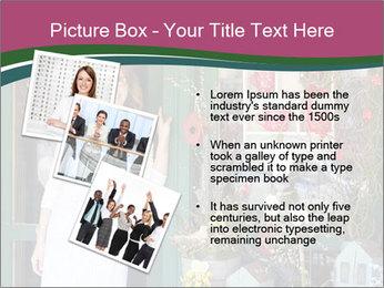 Woman Florist PowerPoint Template - Slide 17