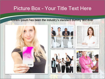 Woman Florist PowerPoint Template - Slide 19