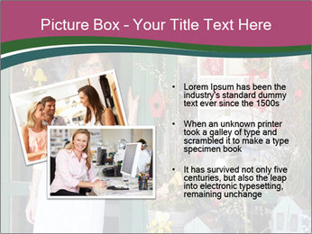 Woman Florist PowerPoint Template - Slide 20