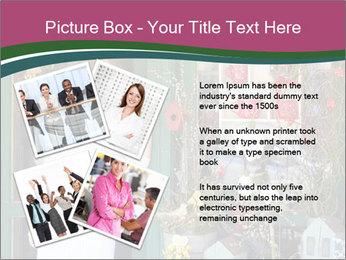 Woman Florist PowerPoint Template - Slide 23