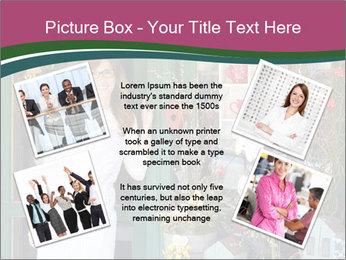 Woman Florist PowerPoint Template - Slide 24