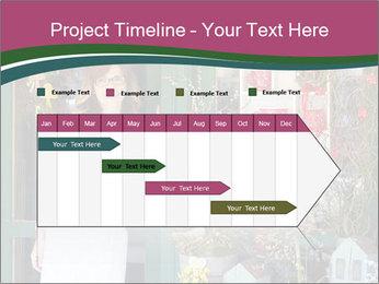 Woman Florist PowerPoint Template - Slide 25