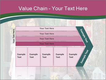 Woman Florist PowerPoint Template - Slide 27