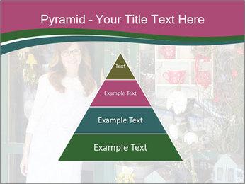 Woman Florist PowerPoint Template - Slide 30