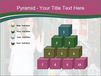 Woman Florist PowerPoint Template - Slide 31