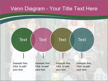 Woman Florist PowerPoint Template - Slide 32