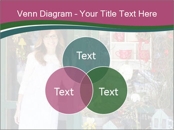 Woman Florist PowerPoint Template - Slide 33