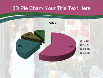 Woman Florist PowerPoint Template - Slide 35