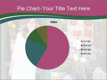 Woman Florist PowerPoint Template - Slide 36