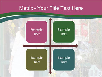 Woman Florist PowerPoint Template - Slide 37
