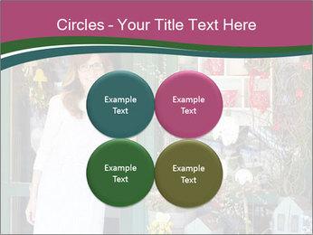 Woman Florist PowerPoint Template - Slide 38
