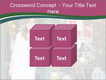 Woman Florist PowerPoint Template - Slide 39