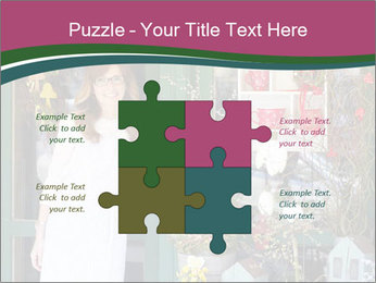 Woman Florist PowerPoint Template - Slide 43