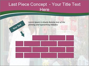 Woman Florist PowerPoint Template - Slide 46