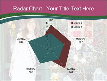 Woman Florist PowerPoint Template - Slide 51