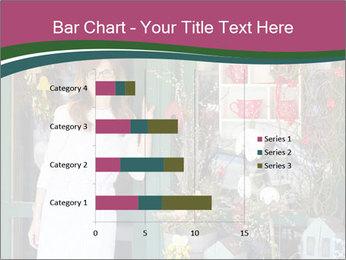 Woman Florist PowerPoint Template - Slide 52