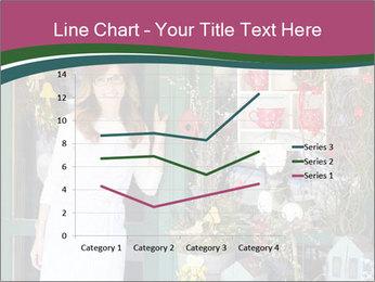 Woman Florist PowerPoint Template - Slide 54