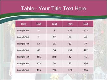 Woman Florist PowerPoint Template - Slide 55