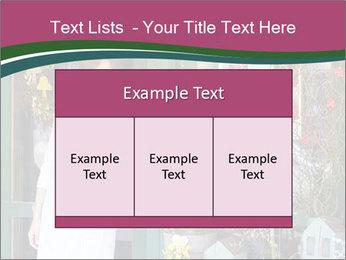 Woman Florist PowerPoint Template - Slide 59