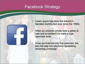 Woman Florist PowerPoint Template - Slide 6