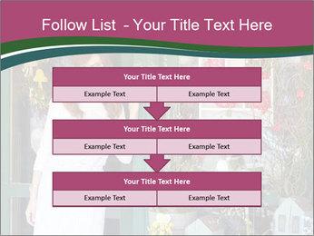 Woman Florist PowerPoint Template - Slide 60