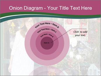 Woman Florist PowerPoint Template - Slide 61