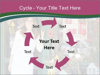 Woman Florist PowerPoint Template - Slide 62