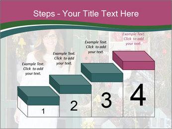 Woman Florist PowerPoint Template - Slide 64