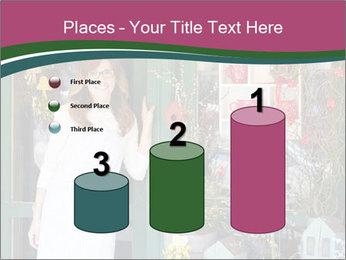 Woman Florist PowerPoint Template - Slide 65