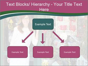 Woman Florist PowerPoint Template - Slide 69