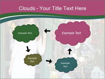 Woman Florist PowerPoint Template - Slide 72