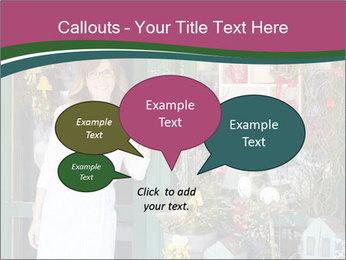 Woman Florist PowerPoint Template - Slide 73