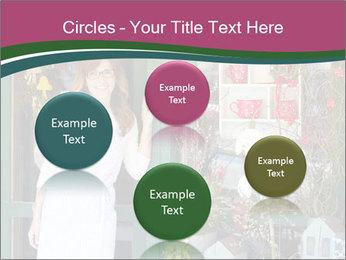 Woman Florist PowerPoint Template - Slide 77