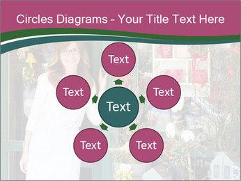Woman Florist PowerPoint Template - Slide 78