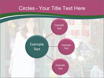 Woman Florist PowerPoint Template - Slide 79