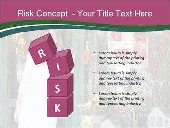 Woman Florist PowerPoint Template - Slide 81