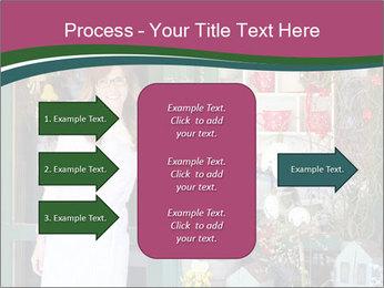 Woman Florist PowerPoint Template - Slide 85