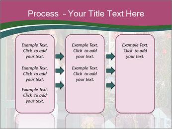 Woman Florist PowerPoint Template - Slide 86