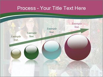 Woman Florist PowerPoint Template - Slide 87