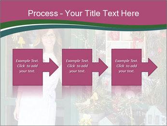 Woman Florist PowerPoint Template - Slide 88