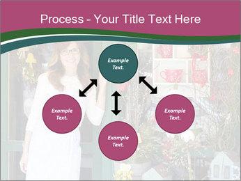 Woman Florist PowerPoint Template - Slide 91