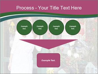 Woman Florist PowerPoint Template - Slide 93