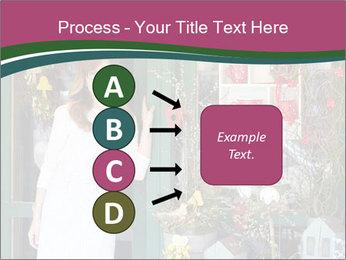 Woman Florist PowerPoint Template - Slide 94