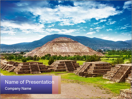Mayan Pyramid PowerPoint Templates