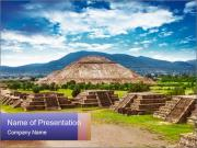 Mayan Pyramid PowerPoint Template